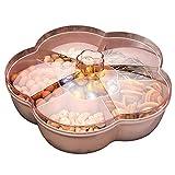 boîte de rangement de collation, boîte de rangement pour snacks, bonbons et noix, plateau pour