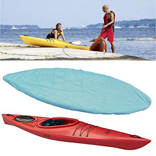 Boat Kayak Canoe Cover - Outdoor/Indoor Waterproof UV Sunlight Shield Protectors Outdoor Storage Dust Cover