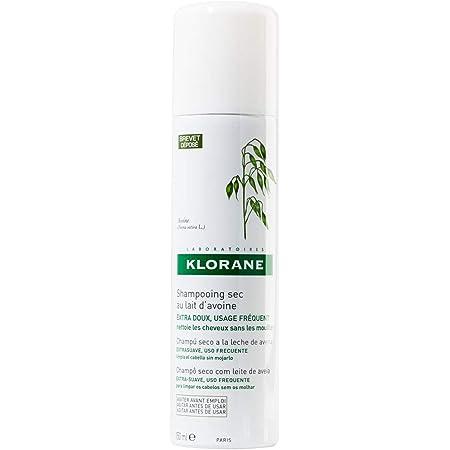 Klorane Shampoo Secco Extra-Delicato al Latte d'Avena, 150 ml