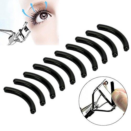 10 Wimpernzange Ersatz-Pads Refill Silikon Kosmetik Make-up Tools False Wimpern Extension Applikator Ersatz