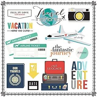 Scrapbook Customs Travel Elements 12