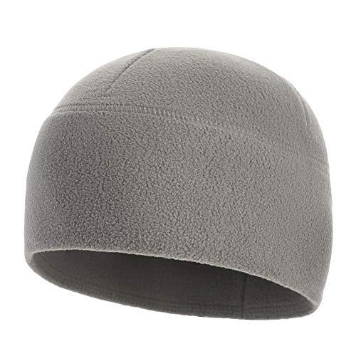 M-Tac Watch Cap Fleece 260 Slimtex Mens Winter Hat Military Tactical Skull Cap Beanie (Medium, Gray)