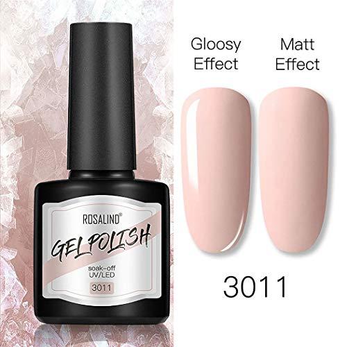ROCONAT 40 couleurs mode nail art polonais 8 ml effet mat manucure polonais gel Vernis à ongles
