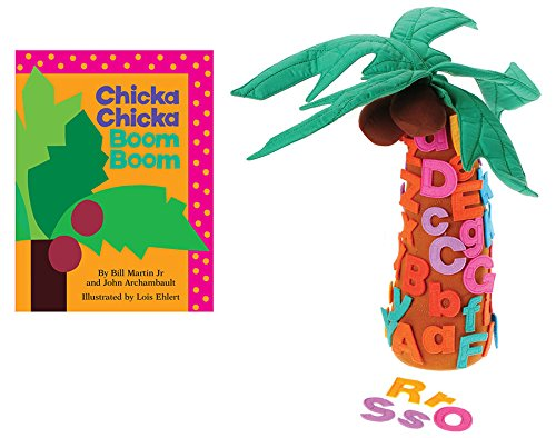 Becker's School Supplies Chicka Chicka Boom Boom Book and Props