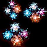 LED Fiber Optic Gift Bows- 12 Pack