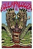 Emek Lollapalooza 1996 Metallica Soundgarden Original Rock Concert Poster Signed