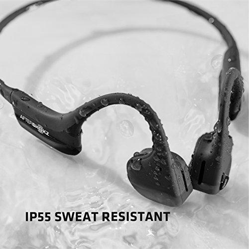 AfterShokz Trekz Air - Écouteurs sans Fil à Conduction Osseuse (Oreilles Libres/Open Ear) Casque...