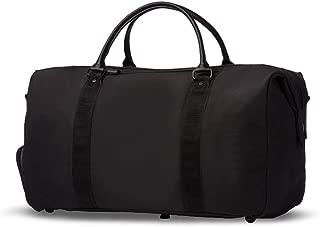 Golf Clothing Bag, Light Travel Clothing Bag, Black, 37×23×46cm happyL