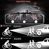 Zoom IMG-2 set fanali per bici ricaricabile
