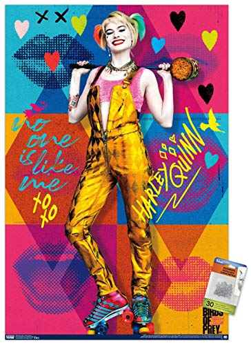 51t7qU4r2tL Harley Quinn Birds of Prey Posters