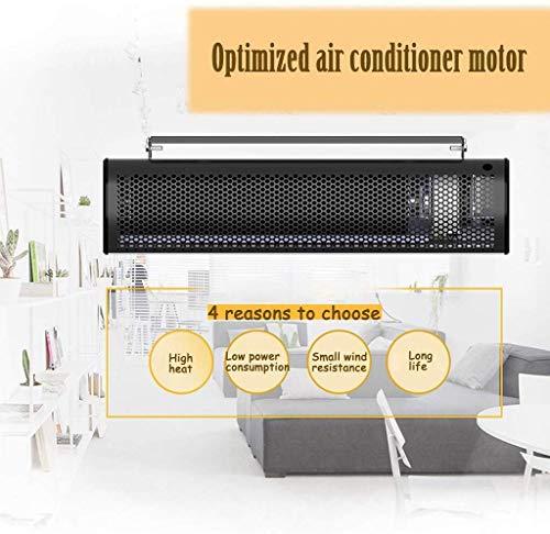 WI Calentador de panel de convección Calentador montado en la pared de ultra alta potencia 3000W / 4000W, Calentador eléctrico inteligente para el hogar, Radiador de volumen de aire ajustable, con co