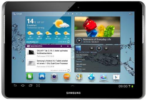 Samsung Galaxy Tab 2 P5110 WIFI Tablet (25,7 cm (10.1 Zoll) Display, 1GHz Prozessor, 1GB RAM, 32 GB Speicher, 3 Megapixel Kamera, Android) titanium-silber