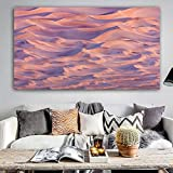 N / A Poster Canvas Painting Landscape Painting Desert Valley Wall Art Wall Picture Living Room Home Decoration Frameless 30x55cm