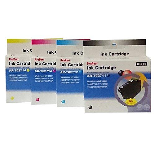 10,4ml Ciano compatibile WF3620,WF3640,WF7110,WF7610,WF7620#27XL