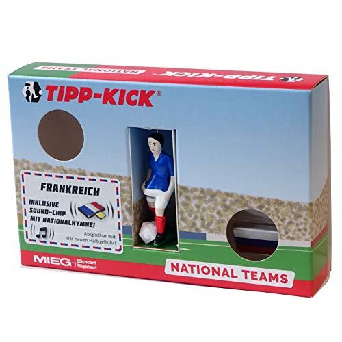 TIPP-KICK 031032 Star-Kicker Frankreich in Torwandbox mit Hymne