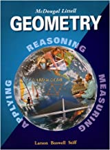 Geometry, Grades 9-12: Mcdougal Littell High School Math (McDougal Littell High Geometry)