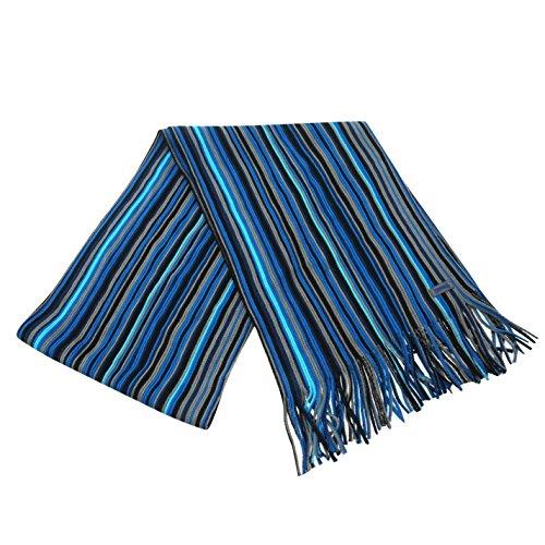 Lonsdale écharpe rayée (Bleu)