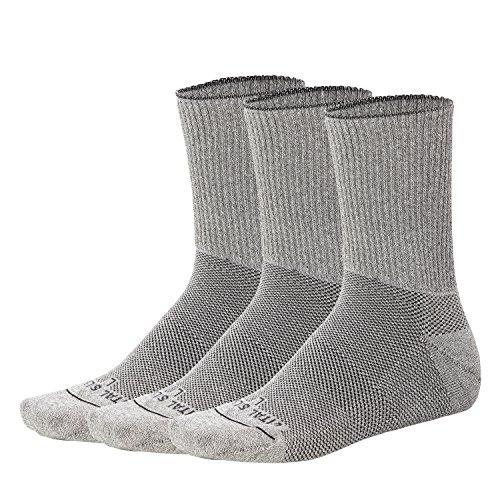 Vital Salveo- suave no vinculante Seamless circulación diabético socks-crew (3pares por paquete)
