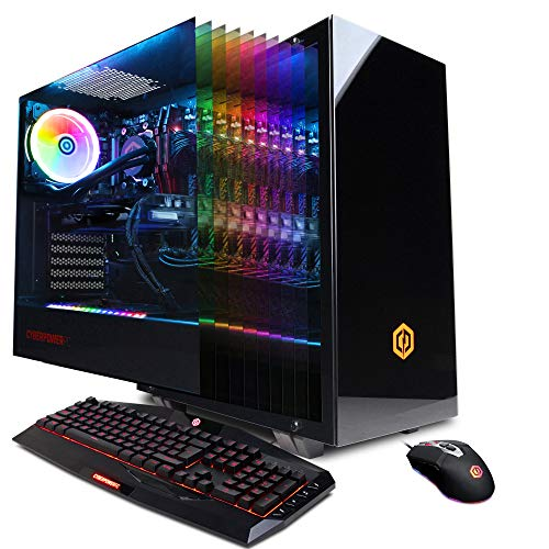 CYBERPOWERPC Gamer Supreme Liquid Cool SLC10200CPG Gaming PC (Intel Core i9-9900K 3.6GHz,...