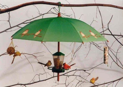 greencollection Futtersilo Snack-Bar Vogelpaar