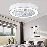 Llyx New Modern Creative Fan Led Deckenleuchte Mit Fernbedienung Leiser Deckenventilator Schlafzimmerlampe Wohnzimmer