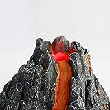 VERLOCO vulkan,vulkanausbruch Modell, vulkan Modell Spielzeug,Vulkan Modell Spielzeug Simulation Vulkan Spielzeug Für Kinder, Vivid Vulkan Modell, Home Decor Science Experiments Play