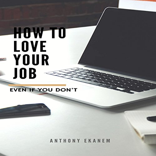 How to Love Your Job - Even If You Do Not audiobook cover art