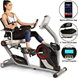 Fitness Reality X-Class 450SL Bluetooth Smart Technology Magnetic Recumbent Exercise Bike with 24...