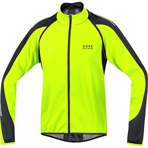 GORE WEAR Herren Jacke Phantom 2.0 Windstopper Soft Shell, Neon Yellow/Black, M