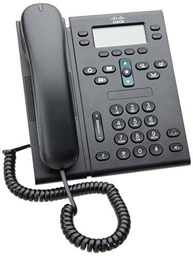 Cisco Unified IP Phone 6945, Charcoal, Standard Handset (CP-6945-C-K9)