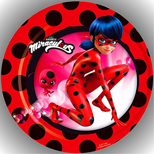 Premium Esspapier Tortenaufleger Miraculous Ladybug AMA 11