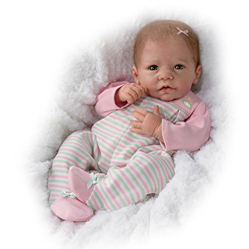 Elizabeth So Truly Real Lifelike & Realistic Weighted Newborn Baby Doll 18-inches by The Ashton-Drake Galleries
