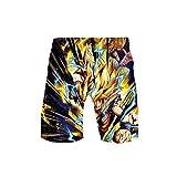 GOYING Anime Dragon Ball Shorts de baño para Hombre Pantalones Cortos de Playa...