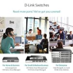 D-Link Fast Ethernet Switch, 16 20 Port SmartPro Managed Stackable w/ 2 Gigabit SFP Ports & 2 10GbE SFP+ Ports (DGS-1510… 10 Ideal for SMB networks with large bandwidth demands requiring 10G uplinks, Physical Stacking, and L3 Static Routing Security features include IP-MAC-Port binding, Safeguard Engine, ACL, and ARP Spoofing Prevention IPv6 management / IPv6 Neighbor Discovery / IPv6 static routing
