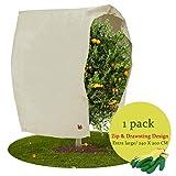 weekend&lifecan tessuto non tessuto per piante, copertura piante inverno,copertura per piante, tessuto non tessuto antigelo, sacco di protezione invernale per piante (200 * 240cm)