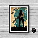 The Avengers Bucky Barnes Minimalist Watercolor Vintage Poster Avengers Collectibles Print Sebastian Stan Winter Soldier Artwork Home Decor Wall Hanging Cool Gift -  Cubic Prints