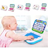 Childrens Learning Tablet Baby Laptop Toy Computer Game Kids Learning Pad Fun Toddler Educational Learning Machine Toys Color Random