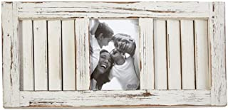 Mud Pie Large White-Wash Shutter Frame