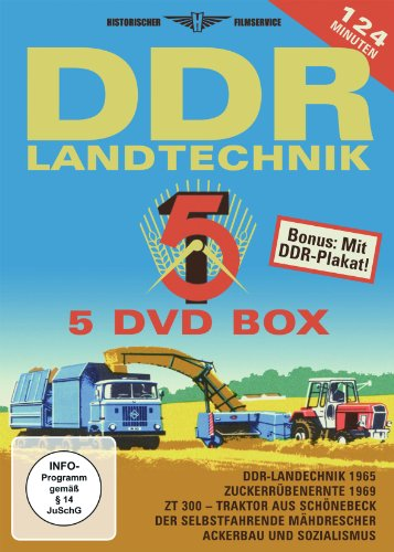 DDR Landtechnik Box [5 DVDs]