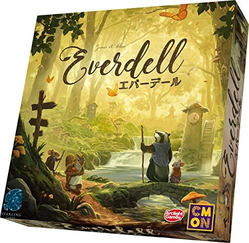 アークライト エバーデール 完全日本語版 (1-4人用 40-80分 13才以上向け) ボードゲーム