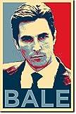TPCK Christian Bale Kunstdruck (Obama Hope Parodie)