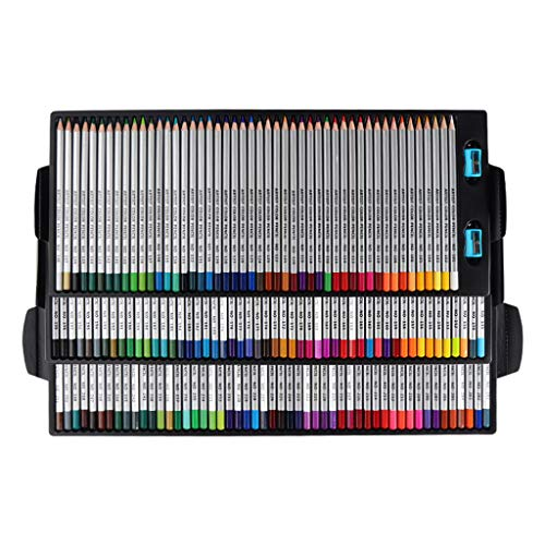150 Professional Colored Pencils, Artist Pencils Set Premium Artist Soft Series Lead with Vibrant Colors for Sketching with Pencil Sharpener