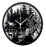 Instant Karma Clocks Reloj de Pared Heavy Metal Música Batería Guitarra Rock Bajo Idea Regalo Negro