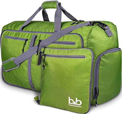 Extra Large Duffle Bag with Pockets - Waterproof Duffel Bag for Women...