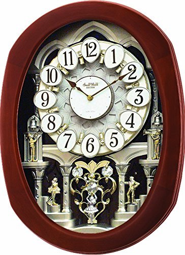 "Rhythm Clocks ""Grand Encore II"" Magic Motion Clock"