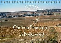 Camino Frances - JakobswegAT-Version (Tischkalender 2022 DIN A5 quer): Unterwegs am Jakobsweg von St. Jean-Pied-de-Port nach Santiago de Compostela (Monatskalender, 14 Seiten )
