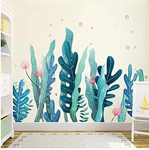 Fotobehang-zeetang marine plant slaapkamer decoratie behang 60x90cm