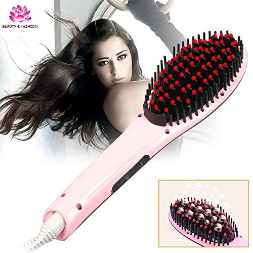 Electrotek BS230 Cepillo Alisador Profesional Color Rosa - 200 gr