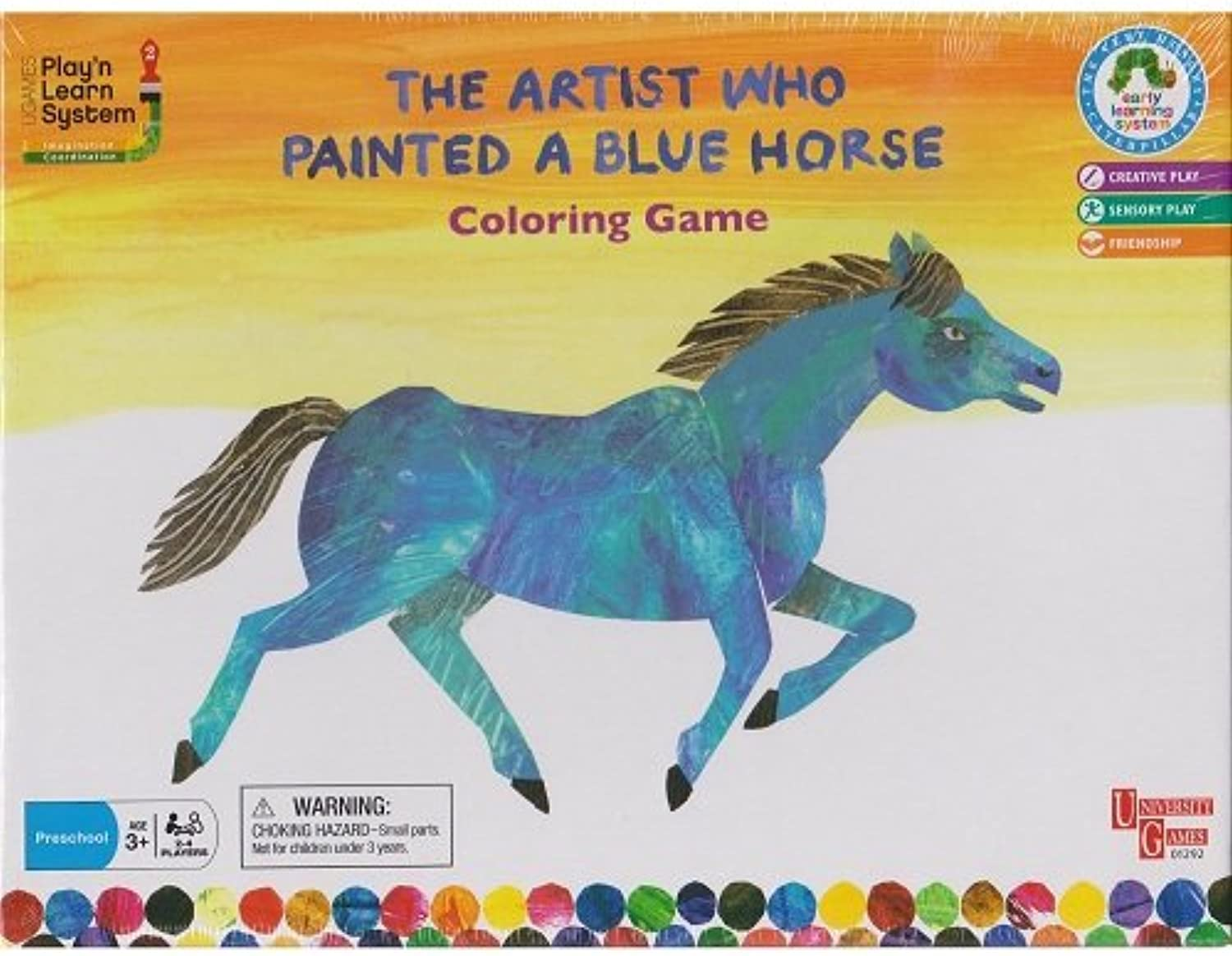 The Artist Who Painted A bluee Horse