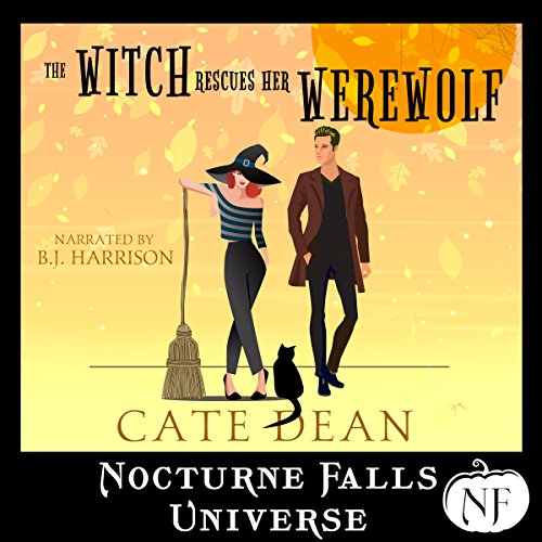 The Witch Rescues Her Werewolf audiobook cover art